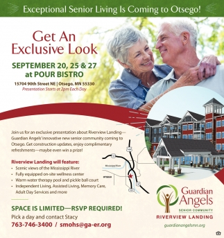 Exceptional Senior Living is Coming to Otsego!