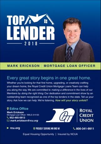 Top Lender 2018