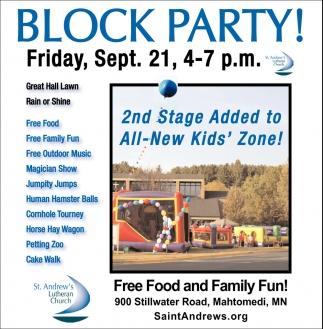 Block Party!
