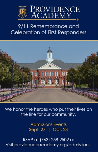 9/11 Remembrance and Celebration of First Responders