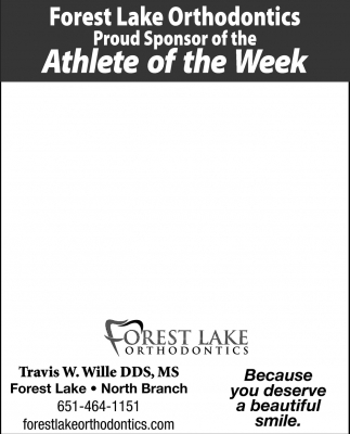 Proud Sponsor of the Athlete of the Week