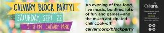 Calvary Block Party!