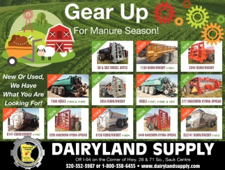 Gear Up for Manure Season!