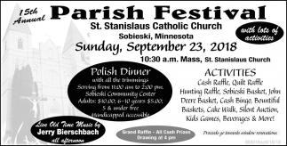 15th Annual Parish Festival