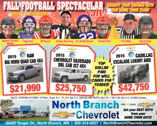 Fall Football Spectacular