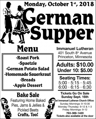 German Supper