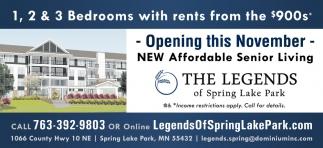 New Affordable Senior Living