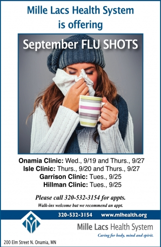 September Flu Shots