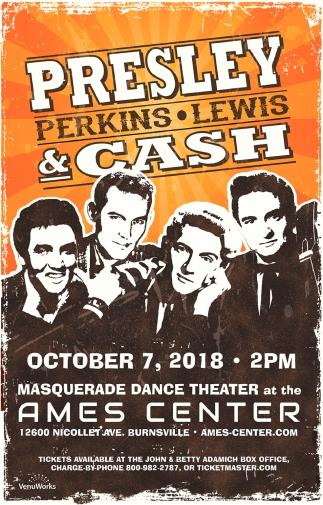 Presley Perkins, Lewis & Cash