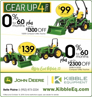 Ads For Kibble Equipment In Belle Plaine MN