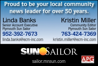Proud to be Your Local Community News Leader for Over 50 Years