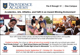 Academics, Arts, Athletics, and Faith in a Award-Winning Environment