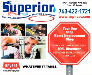 Your One Stop Home Improvement Shop