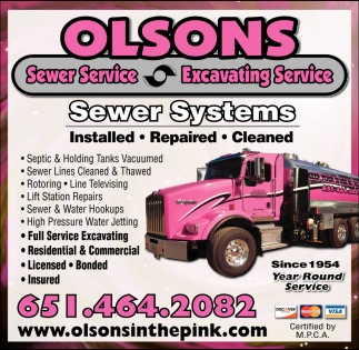 Sewer & Excavating Services