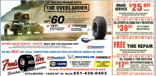 Go Anywhere with the Overlander Package