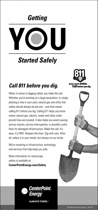 Getting Your Started Safely