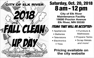 2018 Fall Clean up Day