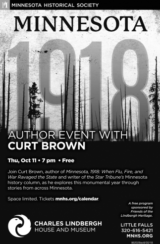 Minnesota Author Event with Curt Brown