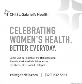 Celebrating Women's Health