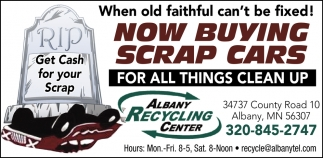 Get Cash for Your Scrap