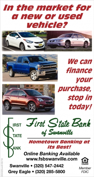 In the Market for a New or Used Vehicle?
