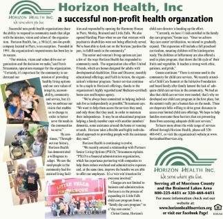 A Successful Non-profit Health Organization