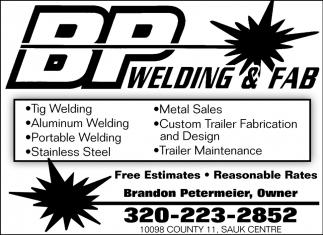 BP Welding & Fab