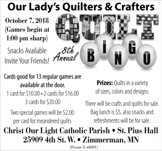 Our Lady's Quilters & Crafters