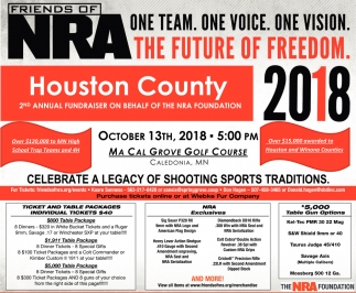 2nd Annual Fundraiser on Behalf of the NRA Foundation