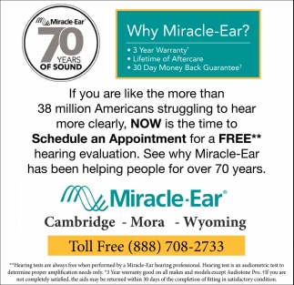 Why Miracle-Ear?