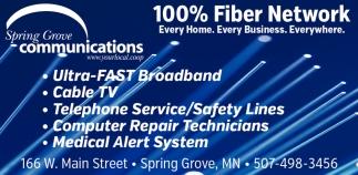 100% Fiber Network