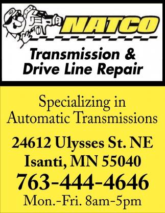 Transmission And Drive Line Repair