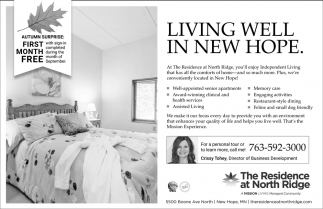 Living Well in New Hope