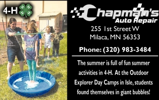 The Tummer is Full of Fun Summer Activities in 4-H