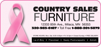 Country Sales Furniture