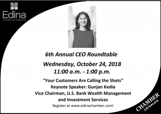 6th Annual CEO Roundtable
