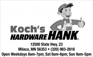 Koch's Hardware Hank