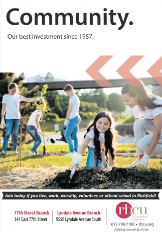 Community. Our Best Investment Since 1957