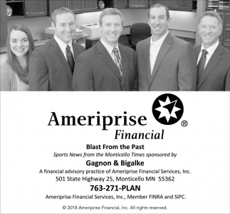 A Financial Advisory Practice of Ameriprise Financial Services, Inc