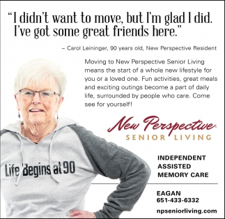 NEW PERSPECTIVE SENIOR LIVING