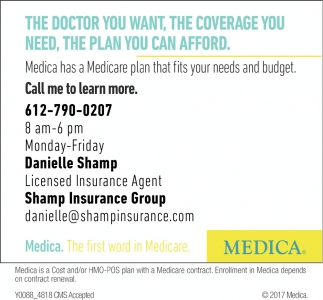 Medica has a Medicare Plan that Fits Your Needs and Budget