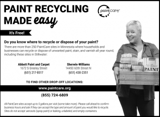 Paint Recycling Made Easy