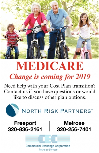 Medicare Change is Coming for 2019