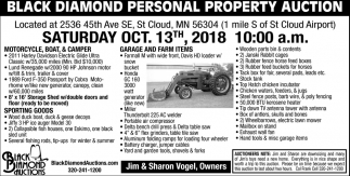 Black Diamond Personal Property Auction