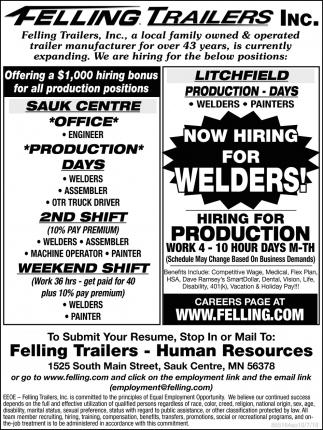 $1000 Hiring Bonus for All Positions!