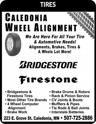 We are Here for All Your Tire & Automotive Needs!