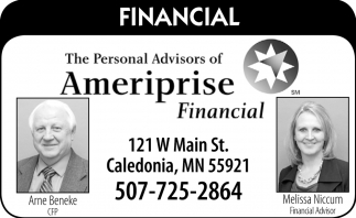 The Personal Advisors of Ameriprise Financial