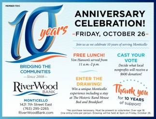10 Years Anniversary Celebration!