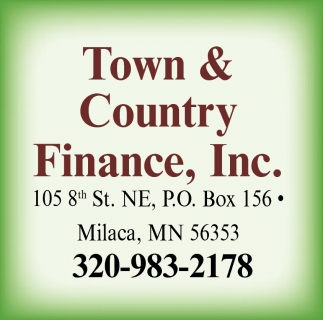 Town & Country Finance, Inc