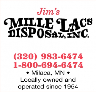 Locally Owned and Operated Since 1954